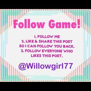 Follow Me and I'll follow you!